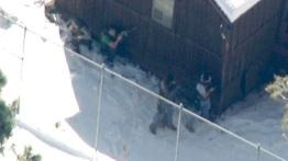 SWAT surrounds Chris Dorner Cabin