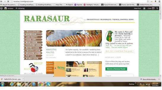 rarasaur-blog
