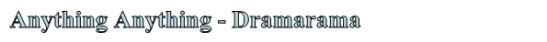 anything-dramarama