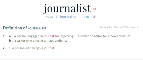 what is a journalist-pete-santilli
